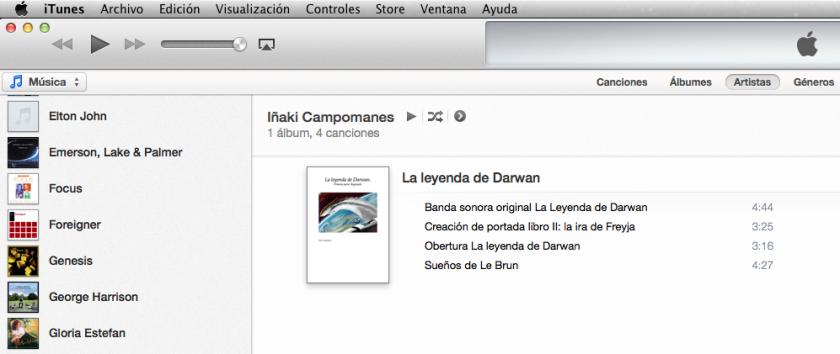 Música de La leyenda de Darwan