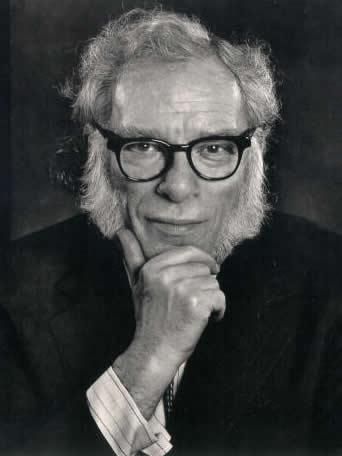 Isaac Asimov. Escritor.