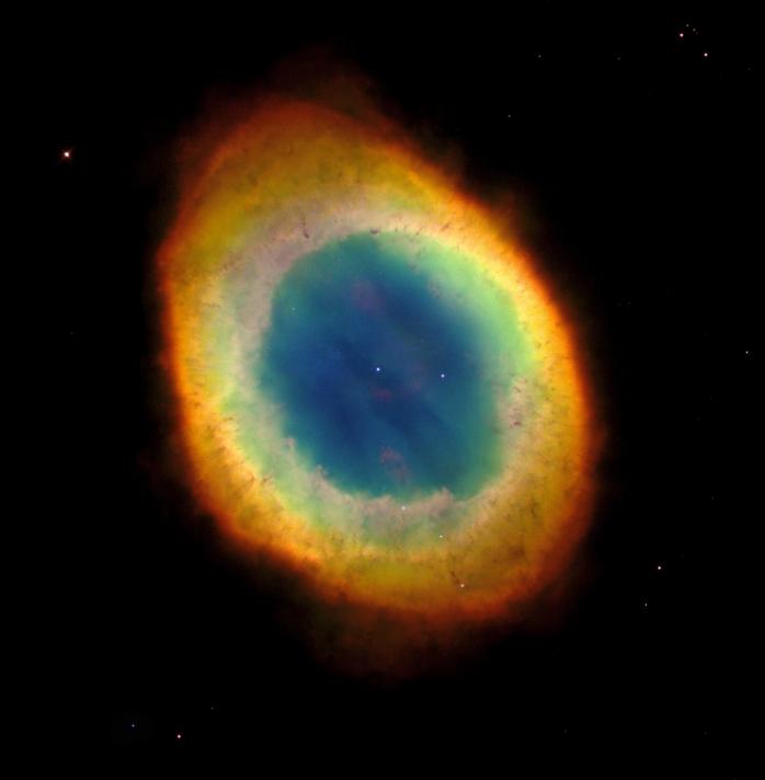 La nebulosa de Lyra, objeto Messier M57