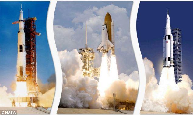 Vectores de lanzamiento NASA