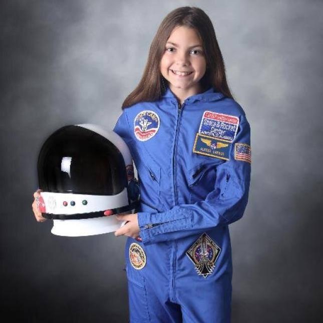 Alyssa Carson, de 13 años, se entrena actualmente para viajar a Marte en las instalaciones de la N.A.S.A.