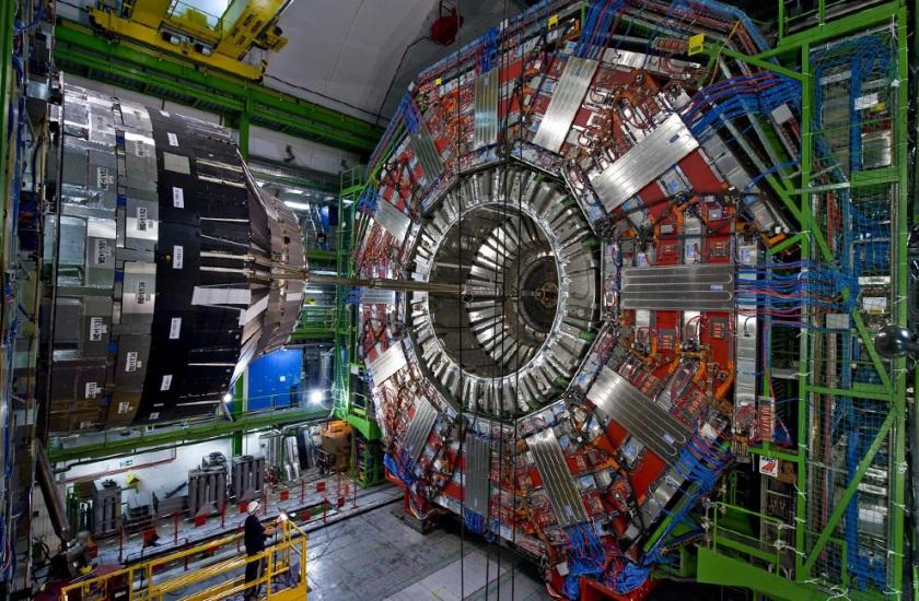 Aquí puede verse la magnitud del LHC.
