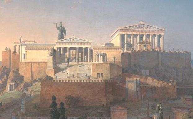 Akropolis_by_Leo_von_Klenze-award-3