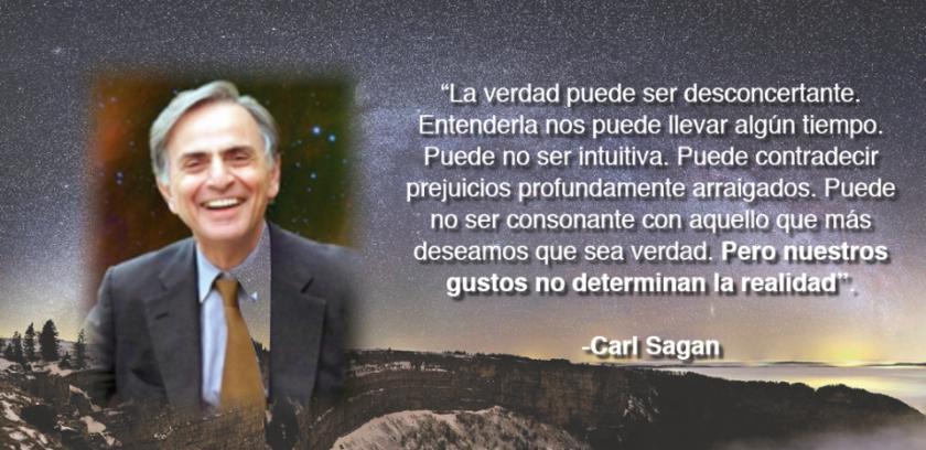 Carl Sagan - la verdad