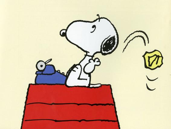 Icult  Libros  ilustracion  viñeta del  libro Los  Tesoros  de  Snoopy
