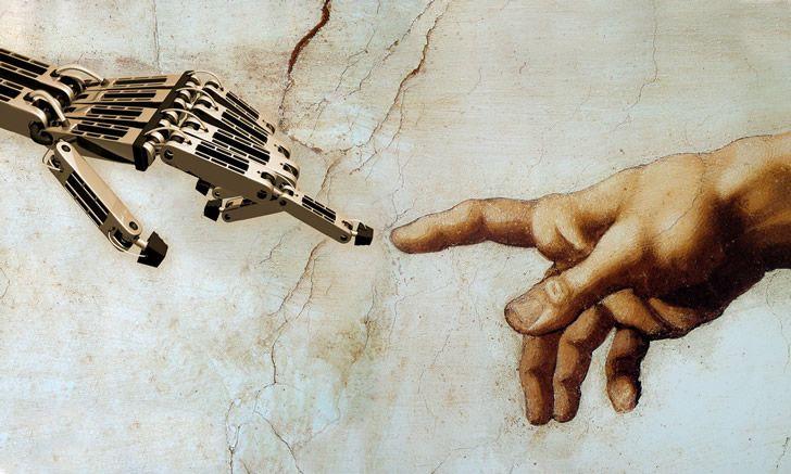 robot-y-humano-creacion
