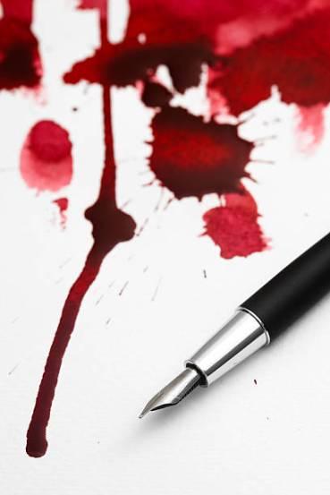 pluma_sangre