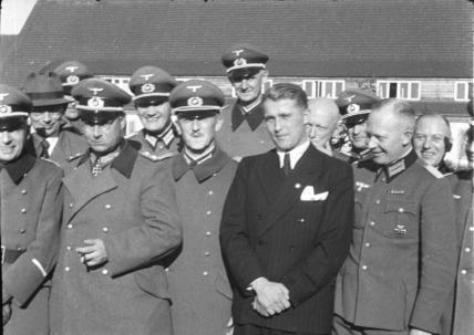 Peenemünde, Dornberger, Olbricht, Leeb, v. Braun