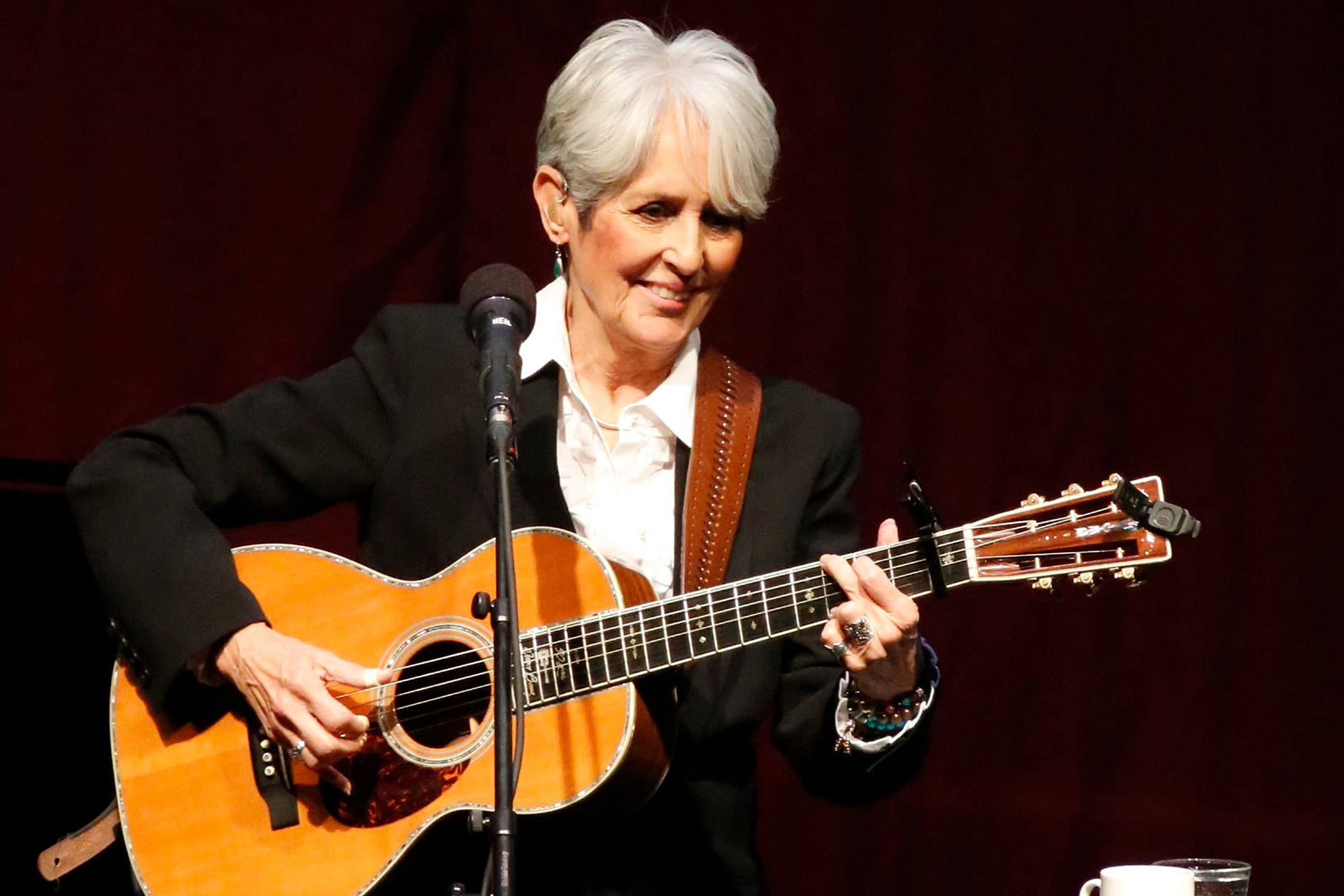 Joan Baez in concert, Stockholm, Sweden - 02 Mar 2018